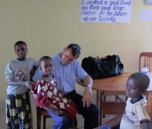 The 3 sick kids – Joseph with Trachoma, Ange – Trachoma and Rahama with Typhoid