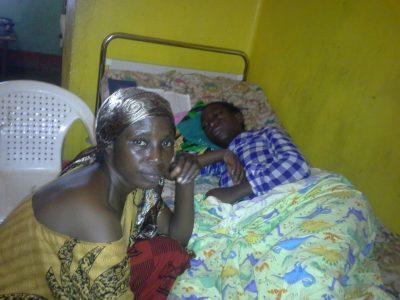 Child with Malaria